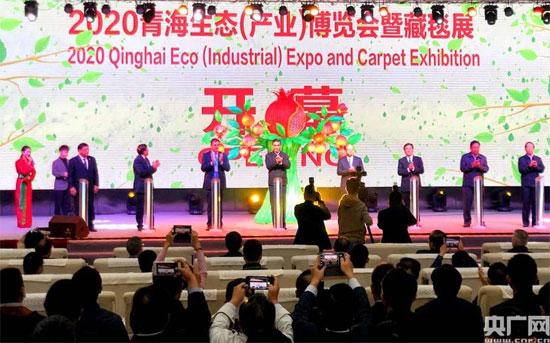 陈德海秘书长出席2020年青海生态(产业)博览会开幕式