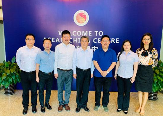 陈德海秘书长会见重庆市中新项目管理局创新部陆大海部长