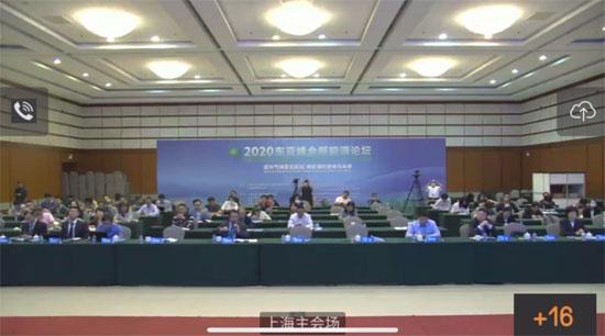 中国—东盟中心代表参加2020东亚峰会新能源论坛