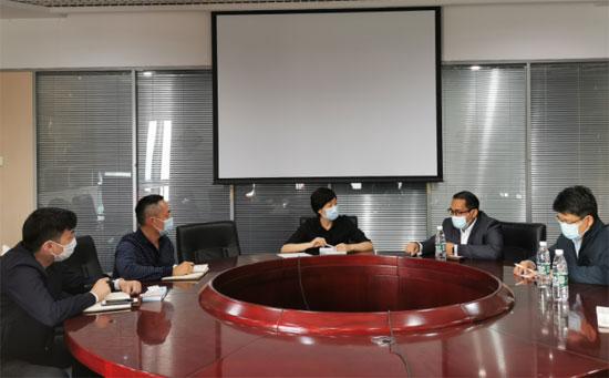 中国—东盟中心与中央广播电视总台进行工作交流