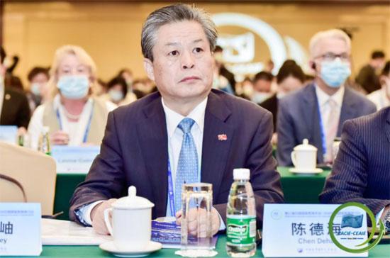 陈德海秘书长出席2020中国国际教育研讨会全体大会