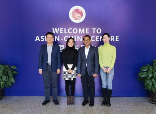 中国—东盟中心与中国电影资料馆进行工作交流
