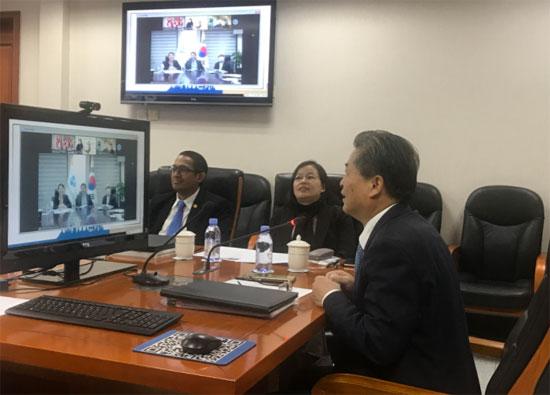 中国—东盟中心、日本—东盟中心、韩国—东盟中心秘书长举行第15次非正式会议
