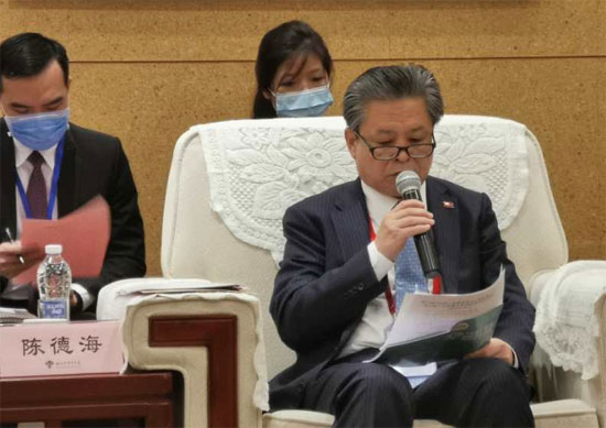 Head of Publicity Department of Hunan CPC Provincial Committee Met with a Delegation of Diplomats and Journalists from ASEAN Member States (AMS) Stationed in Beijing