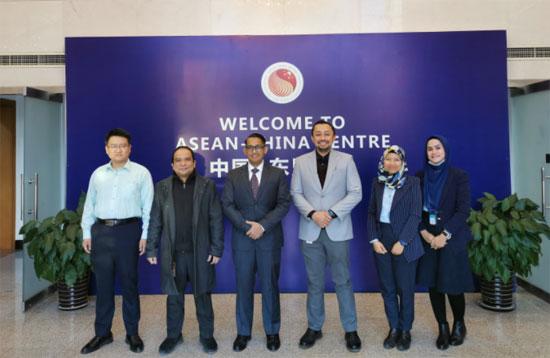 中国—东盟中心与印度尼西亚驻华使馆进行工作交流