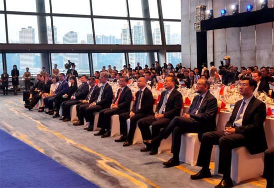 陈德海秘书长出席中新互联互通项目5周年招待会
