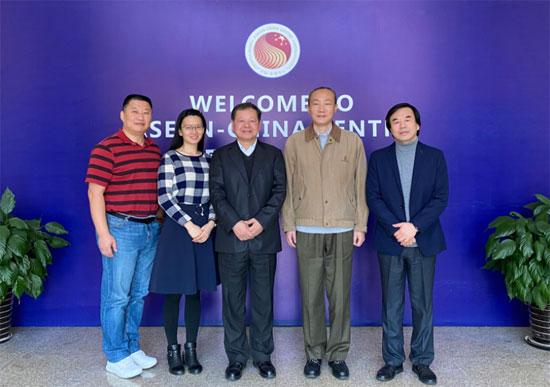贸易投资部主任郭传维会见中国粮食行业协会副秘书长张学军