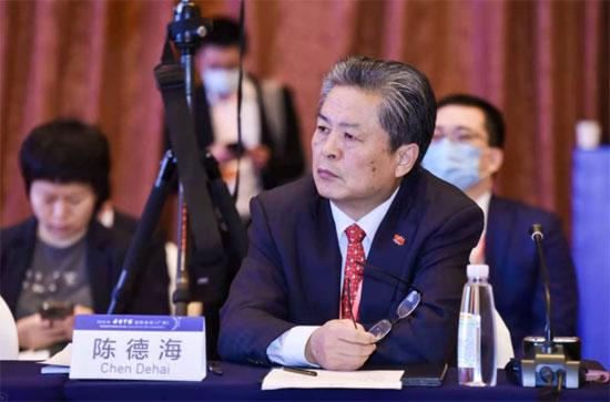 """陈德海秘书长出席2020年""""读懂中国""""国际会议(广州)"""