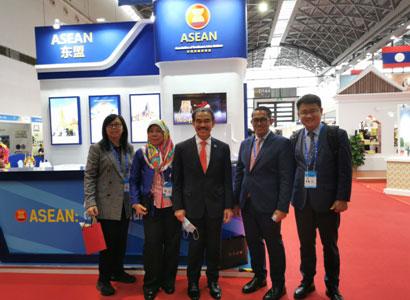 中国—东盟中心在第17届中国—东盟博览会成功设展