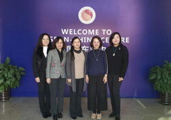 中国—东盟中心同大连外国语大学进行工作交流
