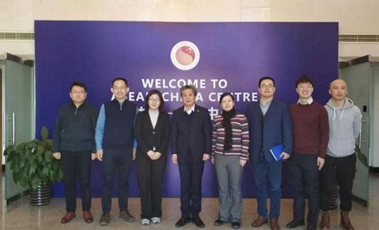 陈德海秘书长会见中国外交部亚洲司参赞董书慧