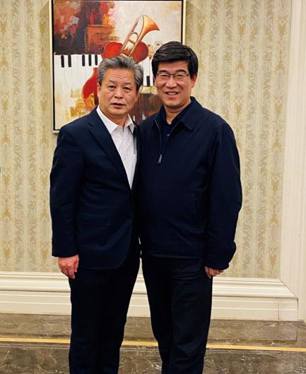 ACC Secretary-General Chen Dehai Met with Secretary of the CPC Dezhou Municipal Committee