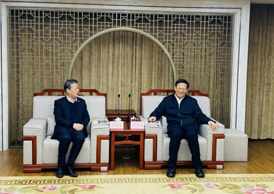 ACC Secretary-General Chen Dehai Met with Director-General of the Foreign Affairs Office of Shandong Province