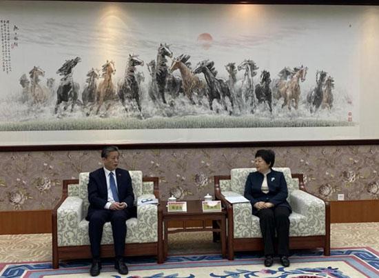 ACC Secretary-General Chen Dehai Visited Shandong University