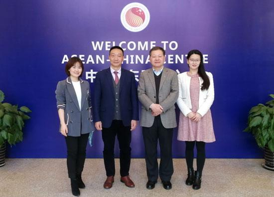 贸易投资部主任郭传维会见广东省贸促会副会长范新林