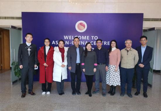 ACC Representatives Met with China Renewable Energy Engineering Institute