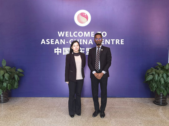 ACC Representative Met with DCM of Malaysian Embassy