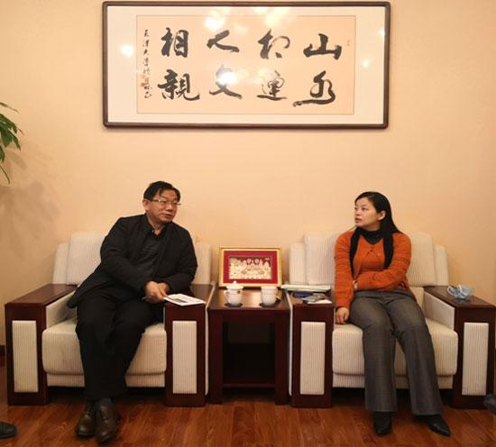 综合协调部主任汪红柳会见中国农业农村部对外经济合作中心官员