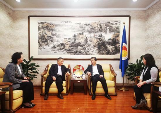 陈德海秘书长会见北京烹饪协会会长云程
