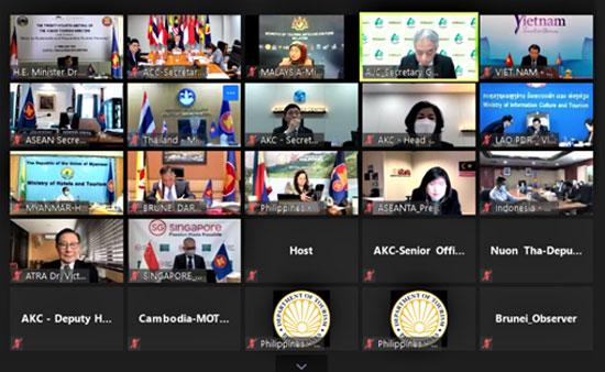 中国—东盟中心陈德海秘书长出席第24届东盟旅游部长会议暨第20届东盟与中日韩(10+3)旅游部长会议并致辞
