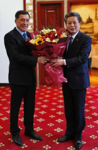 中国—东盟中心与上海合作组织进行工作交流