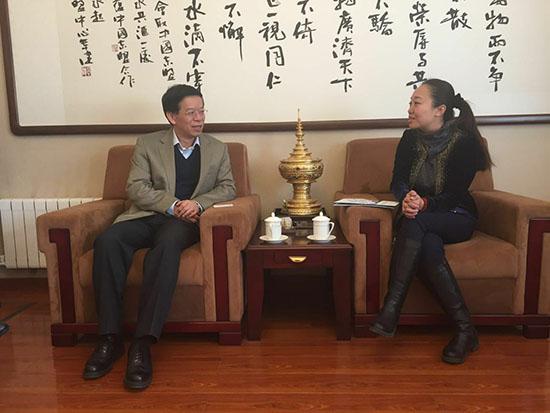 李元主任会见泰国国际贸易商会驻中国代表处首席代表