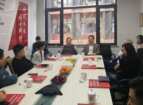 贸易投资部主任郭传维与长江商学院东盟班在京学员座谈