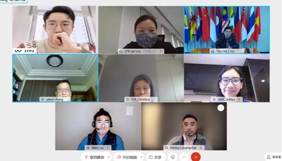 中国—东盟中心代表参加东盟旅游推广交流会