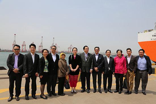 中国—东盟中心联合理事会成员赴天津考察