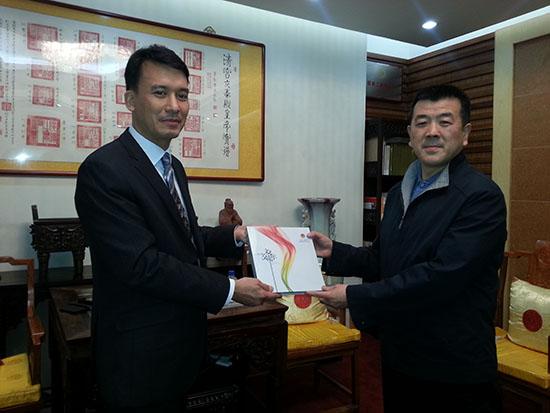 教育文化旅游部主任拜访恭王府管理中心