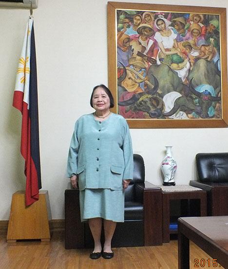 """""""外交官带你游东盟""""——菲律宾驻华大使微博访谈"""