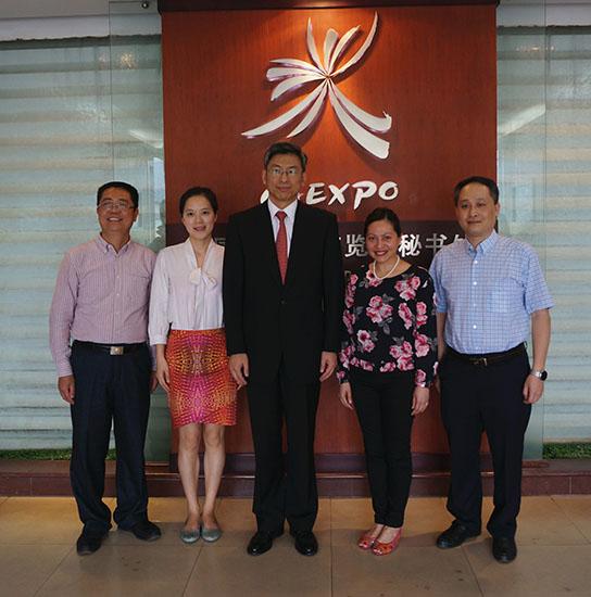 中国—东盟中心推动与中国—东盟博览会秘书处及钦州市政府的合作