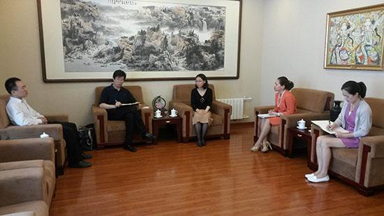 中国—东盟中心会见中国国务院新闻办公室巡视员