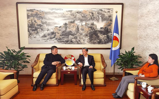 ACC Secretary-General Chen Dehai Met With Vice Chairman of the Charhar Institute
