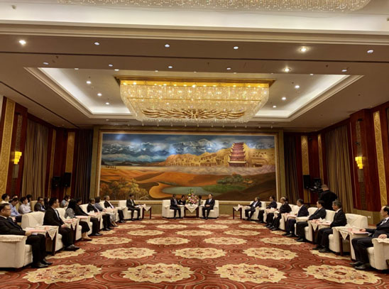 Gansu Provincial Party Committee Deputy Secretary Met with Delegation of Diplomats and Beijing Correspondentsfrom AMS