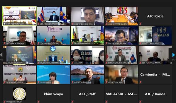 中国—东盟中心代表参加第54届东盟国家旅游组织会议及相关会议