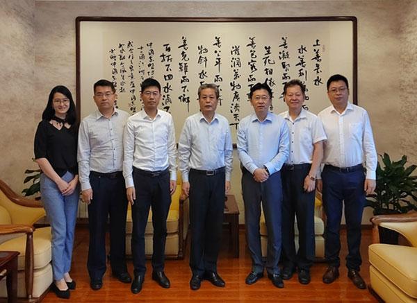 陈德海秘书长会见科大讯飞高级副总裁段大为