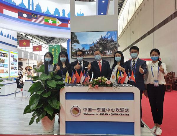 中国—东盟中心在第18届中国—东盟博览会成功设展