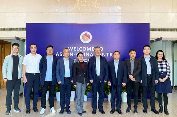 临沂市人民政府副市长刘贤军到访中国—东盟中心