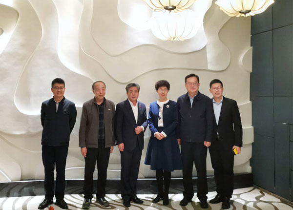 ACC Secretary-General Chen Dehai Exchanged Views with Vice Mayor of Dongying City