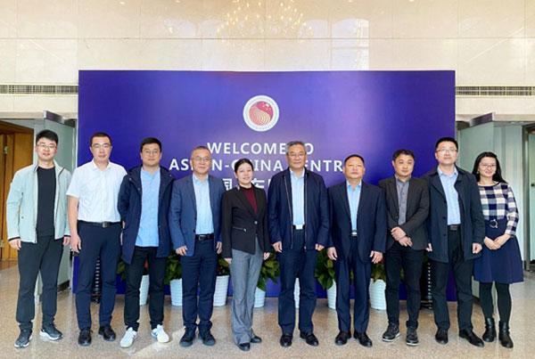 Deputy Mayor of Linyi Visited ACC