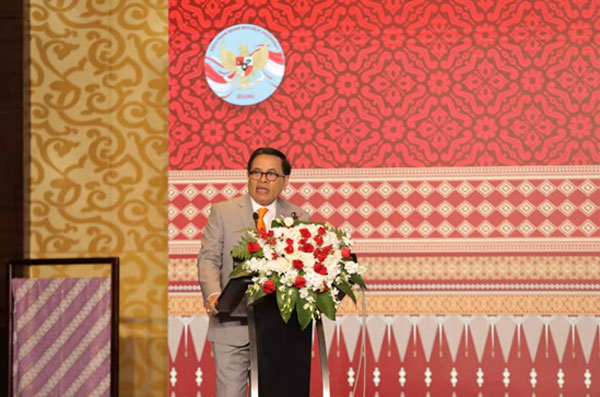 中国—东盟中心代表参加2021年印尼—中国商务论坛