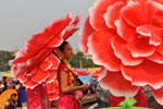 Water-sprinkling Festival Celebrated in China's Yunnan Province