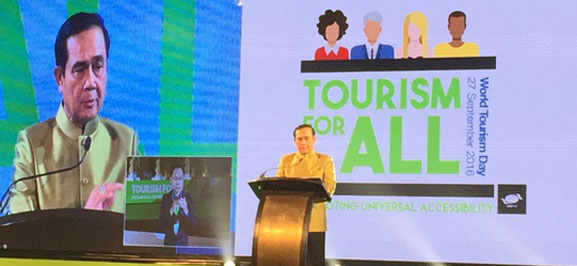 2016 World Tourism Day Official Celebration was Held in Bangkok, Thailand