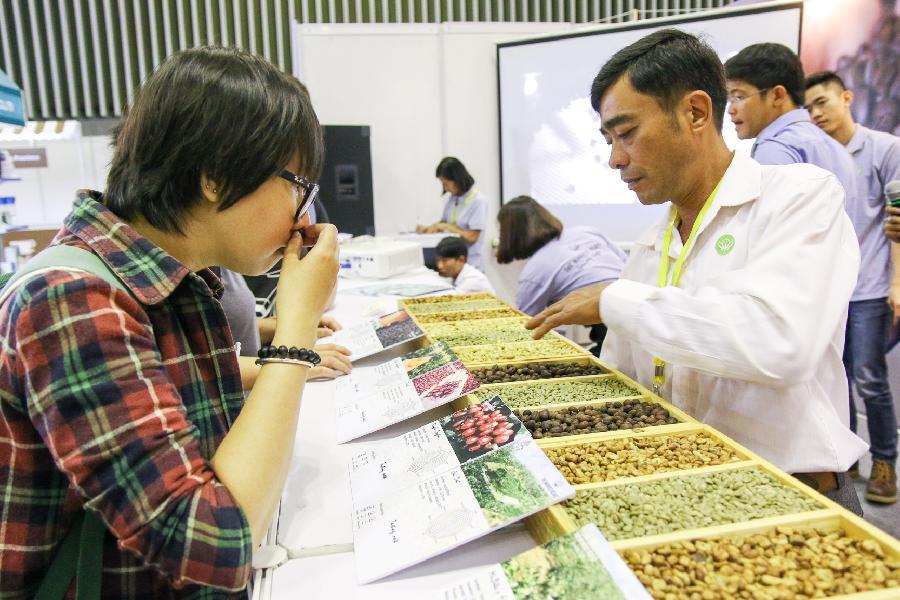 2017越南國際咖啡展銷會在胡志明市舉辦