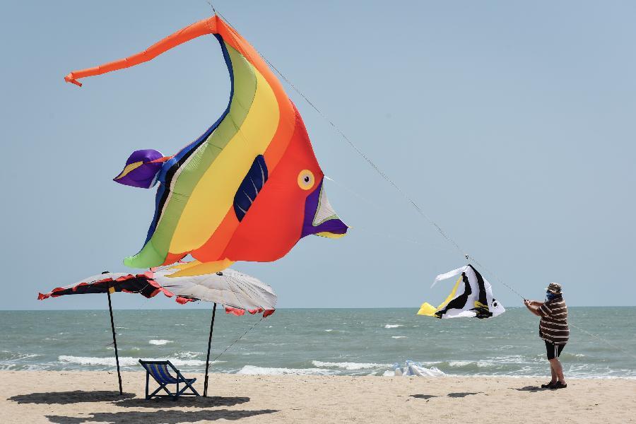 泰國國際風箏節開幕