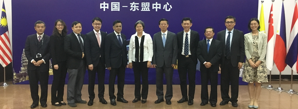 ACC Secretary-General Met with Deputy President of China-ASEAN Business Association