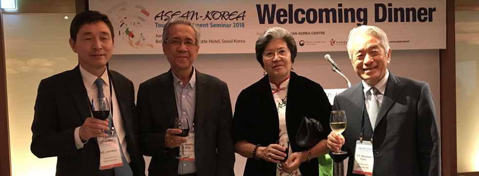The Welcoming Dinner of ASEAN-Korea Tourism Investment Seminar Held