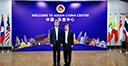 陳德海秘書長與中國駐緬甸大使陳海工作交流(2019-06-06)