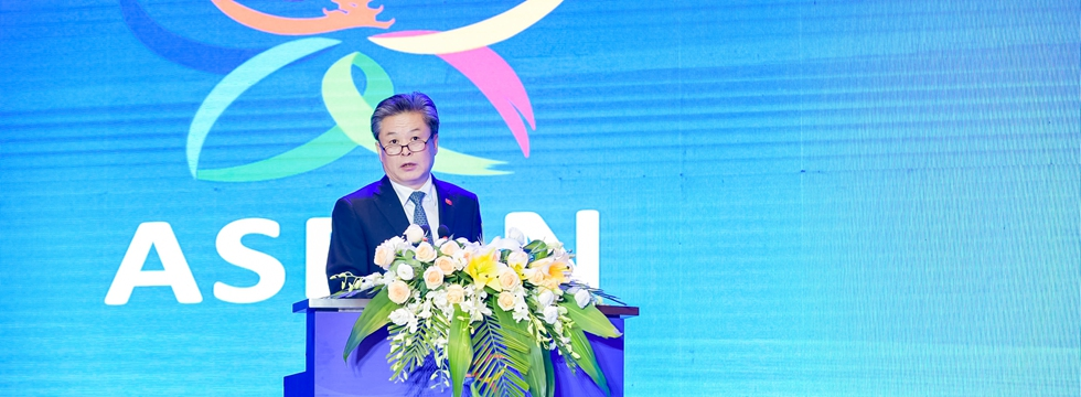 ACC Secretary-General Chen Dehai Attended the Opening Ceremony of 2019 ASEAN-China (Guiyang) Belt and Road Culture and Tourism Exchange Week (2019-08-29)